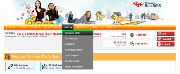 Compose Group Messaging in Bulk SMS Philippines