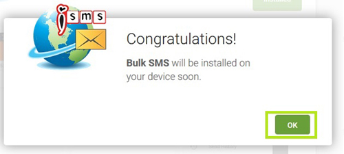 Install SMS Android Apps